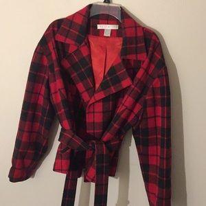 The Limited Buffalo Plaid Jacket - Size M/L